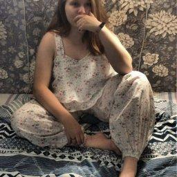 Пижама с длинными штанишками